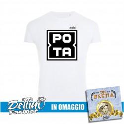 "T-Shirt ""POTA"" + CD OMAGGIO"