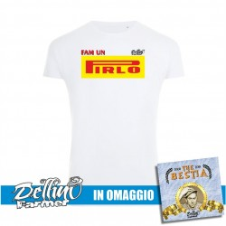 "T-Shirt ""PIRLO"" + CD OMAGGIO"